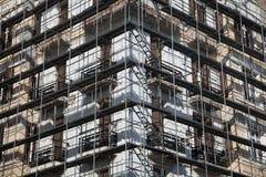 Gebäude-Erneuerung stockbild