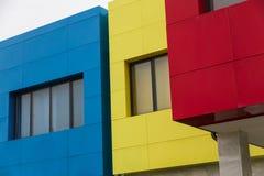 Gebäude-Farben Stockfoto