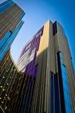 Gebäude gebildet vom Glas Lizenzfreie Stockfotografie