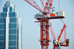 Gebäude-Geschäftsbau bei Thailand Stockbild