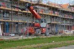 Gebäude-Häuser bei Diemen die Niederlande Lizenzfreies Stockfoto