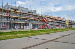 Gebäude-Häuser bei Diemen die Niederlande Lizenzfreie Stockfotografie