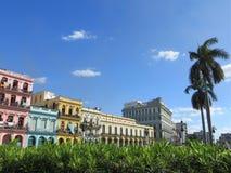 Gebäude in Havana Stockbild
