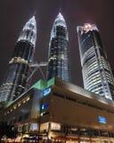 Gebäude-helles isetan Malaysia-klcc stockbilder
