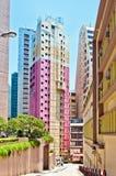 Gebäude in Hong Kong Lizenzfreie Stockfotos