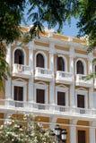 Gebäude in Ibiza Stockfotos