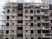 Gebäude im Aufbau Stockbilder