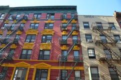 Gebäude im Lower Manhattan, NYC, USA Lizenzfreie Stockfotografie