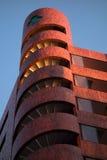 Gebäude im Rot Lizenzfreies Stockbild