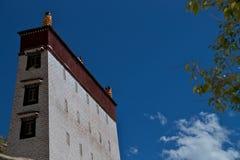 Gebäude im Serum-Kloster Stockfoto