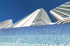 Gebäude im Stadtzentrum gelegen in Miami Stockbild