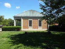 Gebäude in im Stadtzentrum gelegenem Cary, North Carolina Lizenzfreies Stockfoto