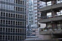 Gebäude im Vorwerk Stockfoto