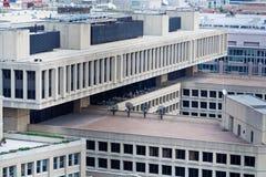 Gebäude J-Edgar Hoover FBI über Washington DC Lizenzfreie Stockfotografie