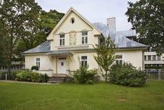 Gebäude in Jurmala-Stadt lettland Lizenzfreies Stockfoto