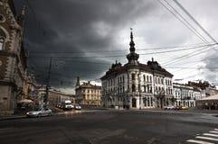 Gebäude in Klausenburg Napoca Stockfotos