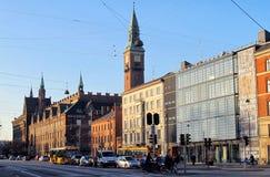Gebäude in Kopenhagen Lizenzfreies Stockbild