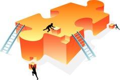 Gebäude-Lösungen Lizenzfreie Stockfotos