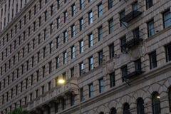 Gebäude in L A - Muster/Beschaffenheit lizenzfreie stockfotos