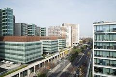 Gebäude in Lissabon Stockbild