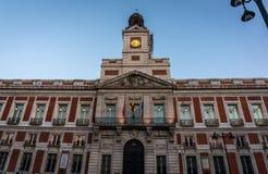 Gebäude in Madrid, Spanien Lizenzfreies Stockfoto