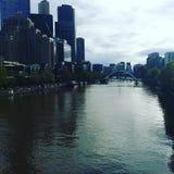 Gebäude in Melbourne Stockfotos
