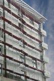Gebäude mit Gestell Lizenzfreies Stockbild