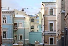 Gebäude in Moskau Stockbilder