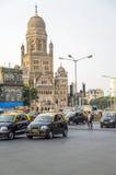 Gebäude Municipal Corporation bei Mumbai, Indien lizenzfreie stockbilder