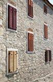 Gebäude in Novigrad, Kroatien Lizenzfreies Stockbild