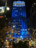 Gebäude in NYC Stockbild