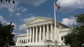 Gebäude Obersten Gerichts Vereinigter Staaten, Washington, DC stock video