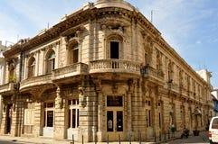 Gebäude Papeleria O'Reilly in Havana, Kuba Stockbilder
