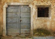 Gebäude in Pazin lizenzfreies stockfoto