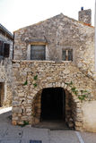 Gebäude in Pican Lizenzfreies Stockfoto
