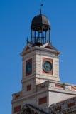 Gebäude Puerta del Sol in Madrid, Spanien Stockbild