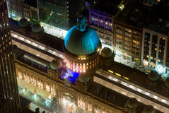 Gebäude QVB der Königin-Victoria von oben Stockfotografie