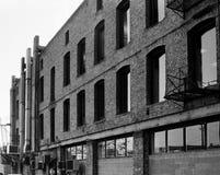 Gebäude-Rückseite Lizenzfreies Stockfoto