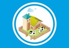 Gebäude-Ranch Lizenzfreie Stockfotos