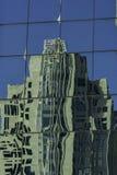 Gebäude-Reflexion stockfotos