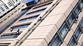 Gebäude-Reinigung Lizenzfreies Stockfoto