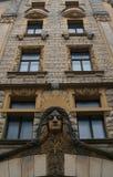 Gebäude in Riga Stockfotografie