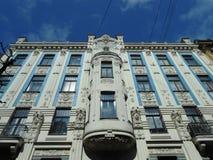 GEBÄUDE IN RIGA, LETTLAND Lizenzfreie Stockfotos