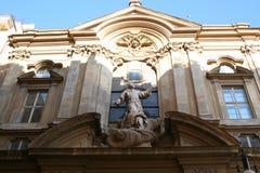 Gebäude in Rom Stockbild