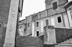 Gebäude in Rom Stockfoto
