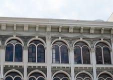 Gebäude roofline Stockbild