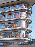 Gebäude in Rotterdam - den Niederlanden Stockfotos