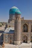 Gebäude in Samarkand Stockfotos