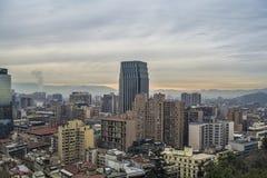 Gebäude in Santiago Lizenzfreies Stockfoto