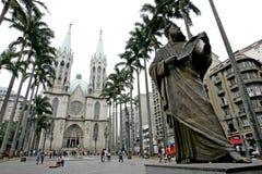 Gebäude in Sao-Paulo Lizenzfreie Stockfotos